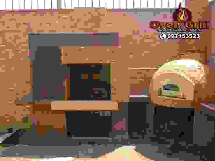 Gastronomi Minimalis Oleh Oven grill Minimalis Beton