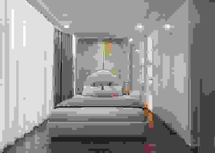 THIẾT KẾ CĂN HỘ LANDMARK 81 Mr.Dung – Chuẩn mực Không gian sống thượng lưu Phòng ngủ phong cách kinh điển bởi ICON INTERIOR Kinh điển