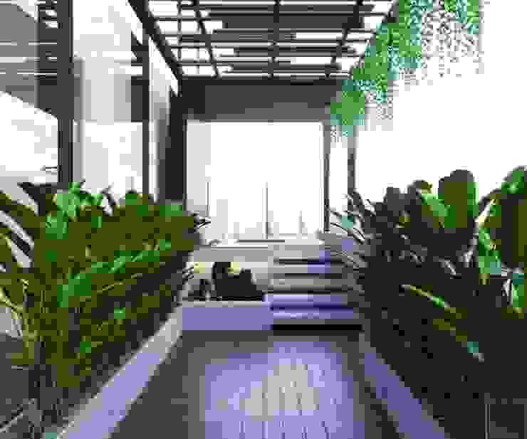 THIẾT KẾ CĂN HỘ LANDMARK 81 Mr.Dung – Chuẩn mực Không gian sống thượng lưu Vườn phong cách kinh điển bởi ICON INTERIOR Kinh điển