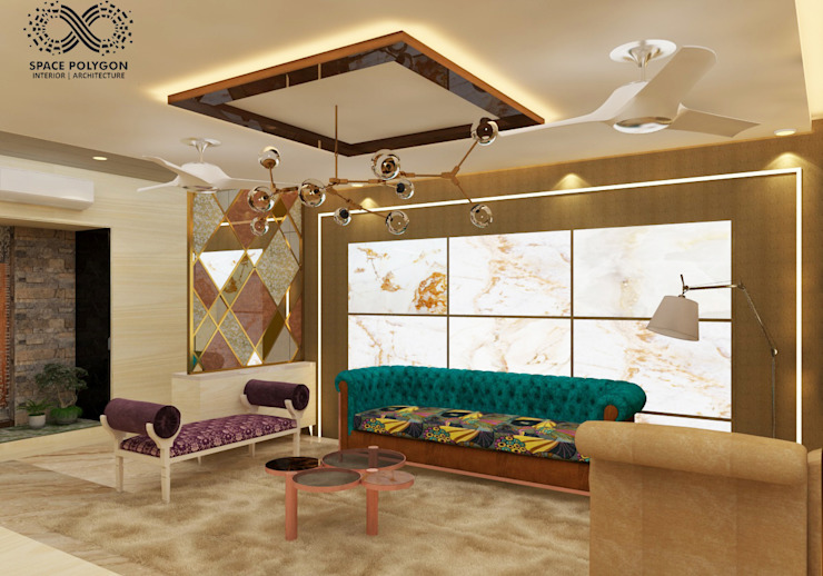 Living Room Seating: eclectic  by Space Polygon,Eclectic