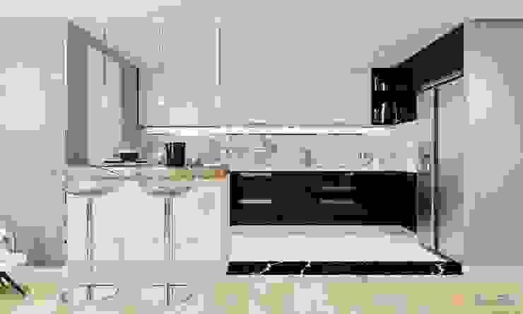 nội thất căn hộ hiện đại CEEB Modern kitchen