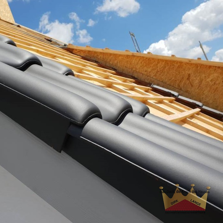 Dachdeckermeisterbetrieb Dirk Lange | Büro Herford Gable roof Grey