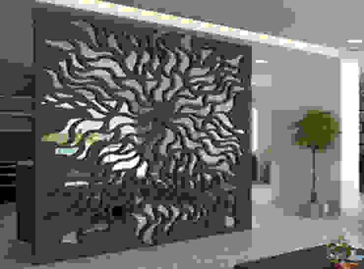 أفكار وديكورات الخشب CNC مع كاسل للديكورات والتشطيبات المعمارية بالقاهرة: حديث  تنفيذ كاسل للإستشارات الهندسية وأعمال الديكور في القاهرة, حداثي