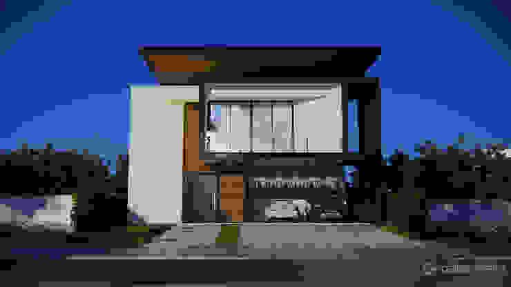Casa FC Gelker Ribeiro Arquitetura | Arquiteto Rio de Janeiro Condomínios Madeira Branco