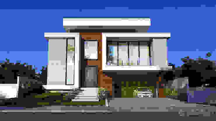 Casa GS Gelker Ribeiro Arquitetura | Arquiteto Rio de Janeiro Condomínios Madeira Branco