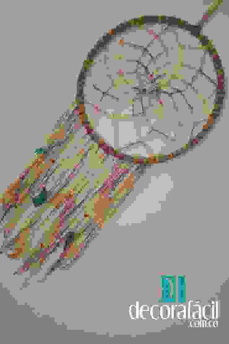 Atrapasueño tejido en lana en crochet de DECORAFACIL Escandinavo