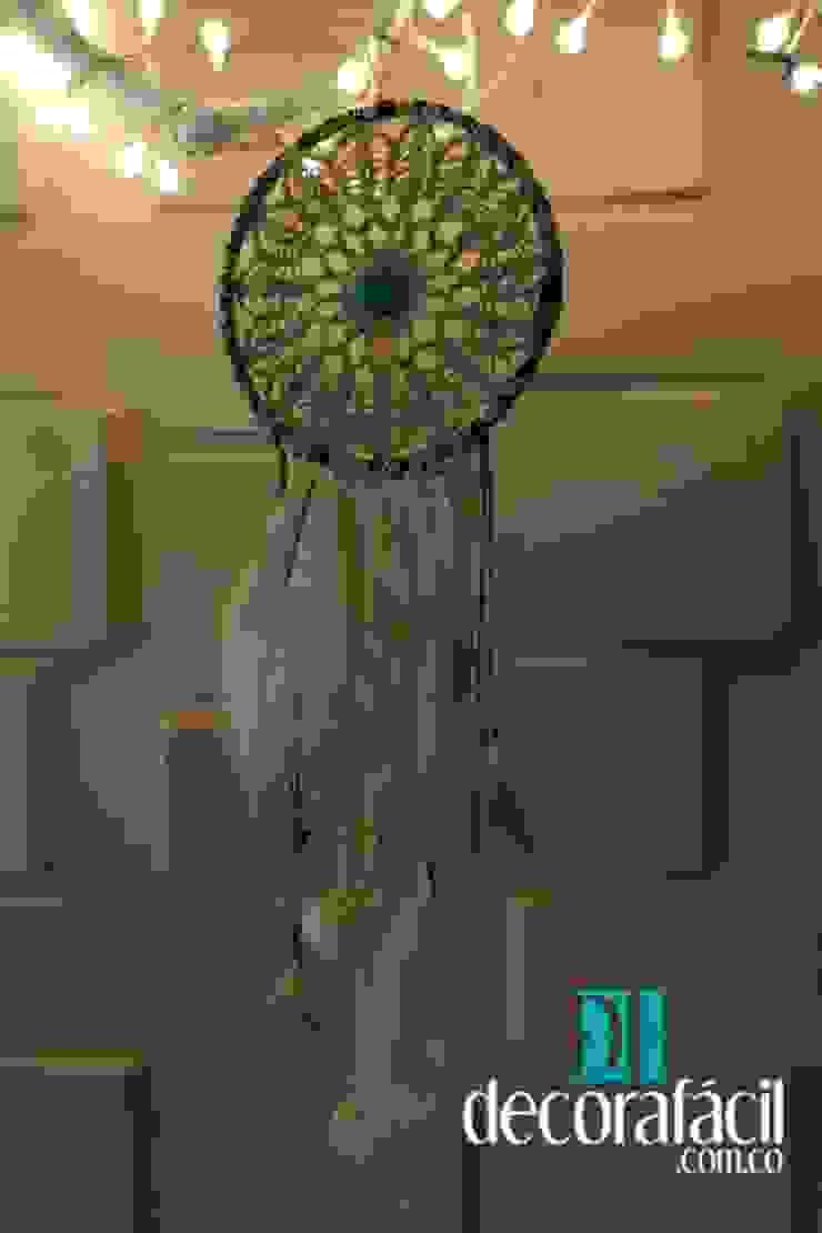 Atrapasueño tejido en hilo en crochet de DECORAFACIL Escandinavo
