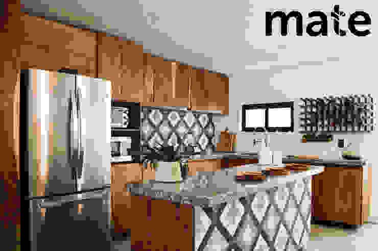 Mate taller Cucina attrezzata Legno massello