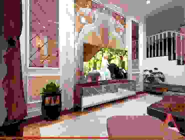 Nhà ở Phường Tân Hưng: cổ điển  by Công Ty TNHH Amy Home, Kinh điển OSB