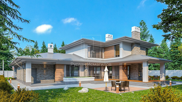 дом с стиле Райта от Арх·и·Проект Классический