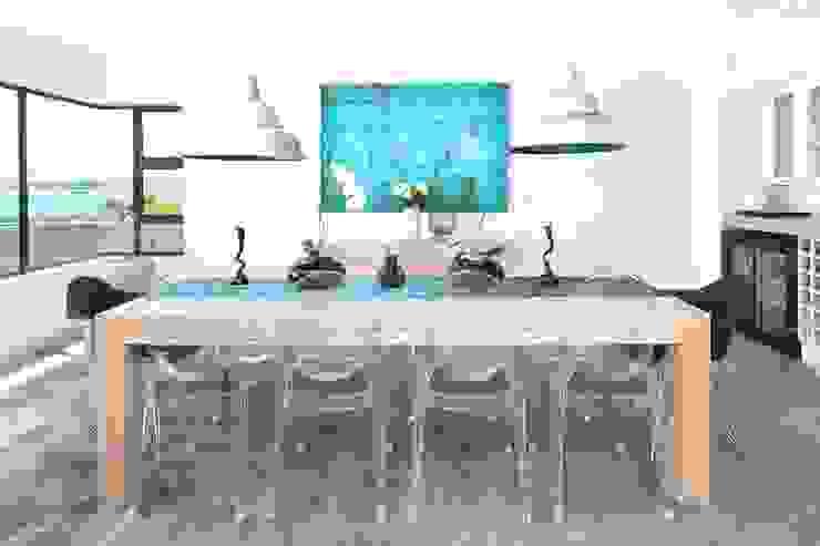 New Build Guest House de Kelders Modern dining room by Overberg Interiors Modern