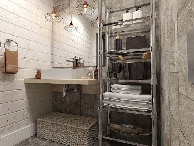 Шамисова Анастасия Eclectic style bathrooms