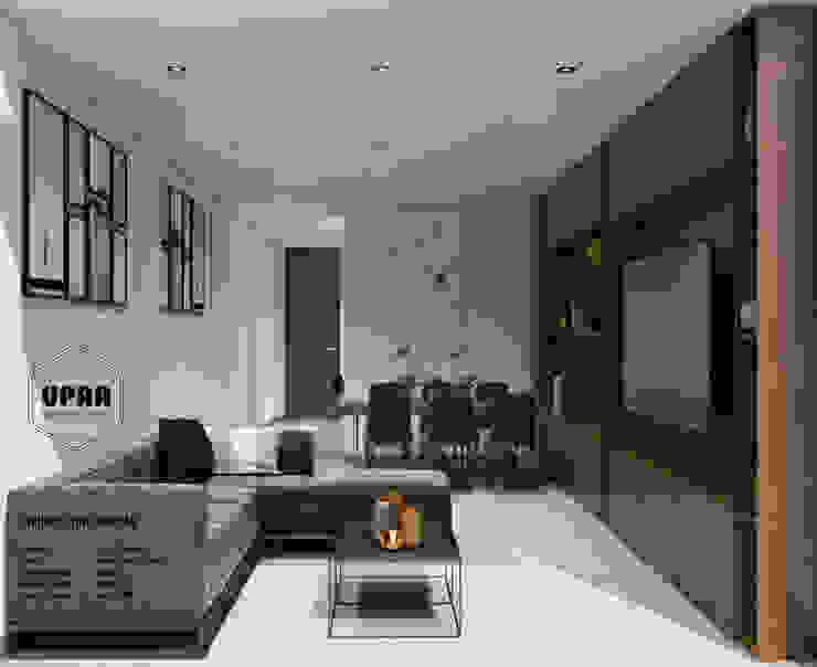 Modern living room by UPAA ARQUITECTOS Modern