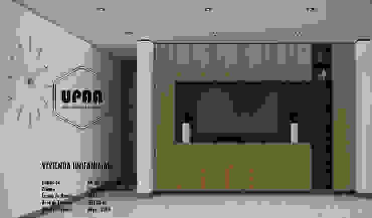 Modern Media Room by UPAA ARQUITECTOS Modern