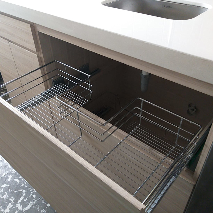 Cocina - Residencia privada de Pragma - Diseño Moderno