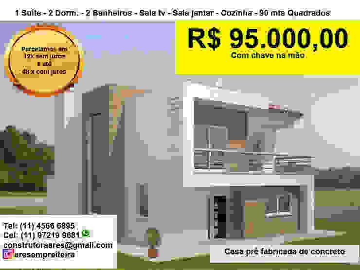 CASAS PRÉ FABRICADAS ARES CONSTRUTORA Casas pré-fabricadas
