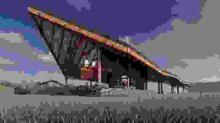 Rustieke tuinen van FRANCO CACERES / Arquitectos & Asociados Rustiek & Brocante
