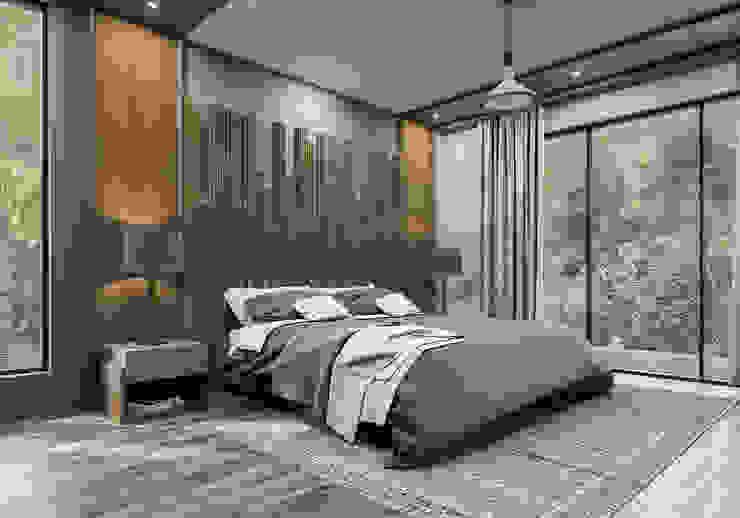 ANTE MİMARLIK  – Misafir yatak odası: modern tarz , Modern