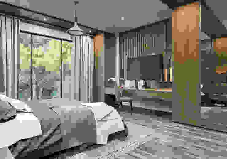 ANTE MİMARLIK  – Yatak odası yerleşim: modern tarz , Modern