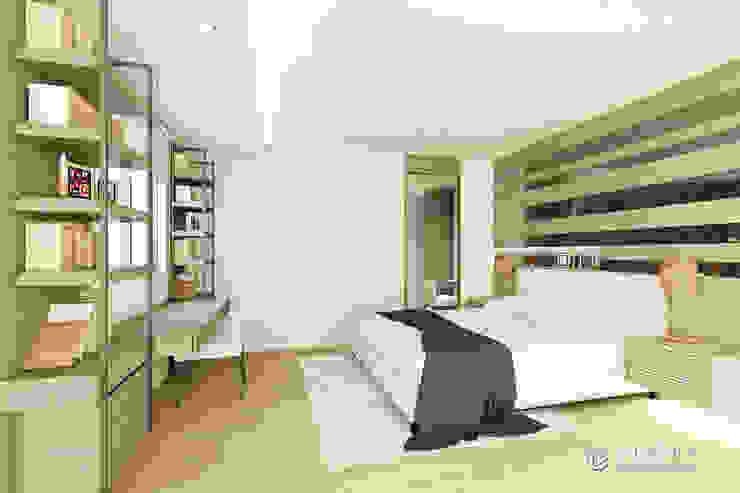 現代風格主臥室設計 Modern style bedroom by 有關創意室內設計 Modern