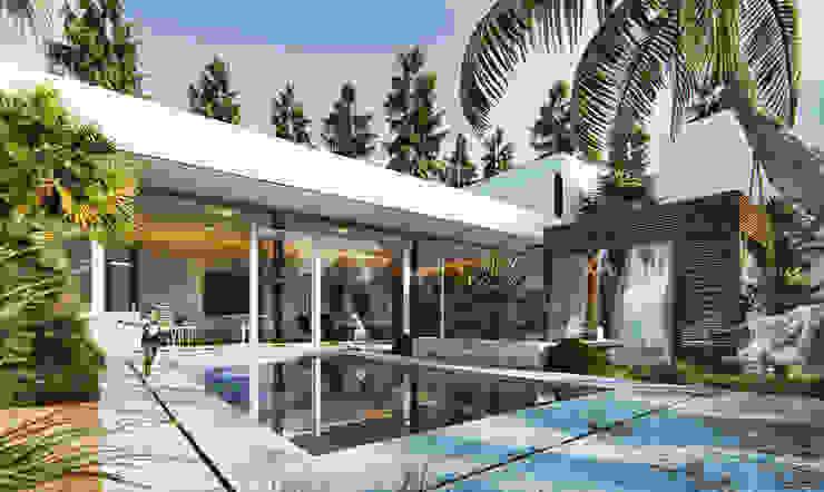 Mẫu biệt thự đẹp: Châu Á  by TNHH xây dựng và thiết kế nội thất AN PHÚ CONs 0911.120.739, Châu Á