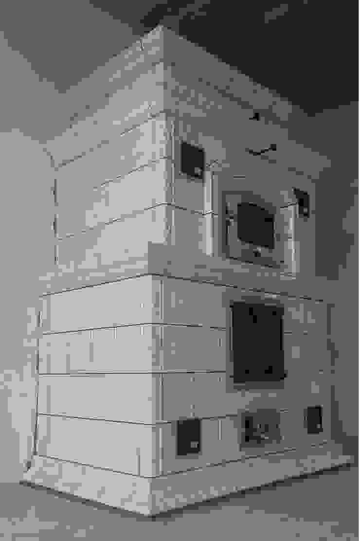 Изразцовая каминопечь Гостиная в классическом стиле от Печная Артель Классический