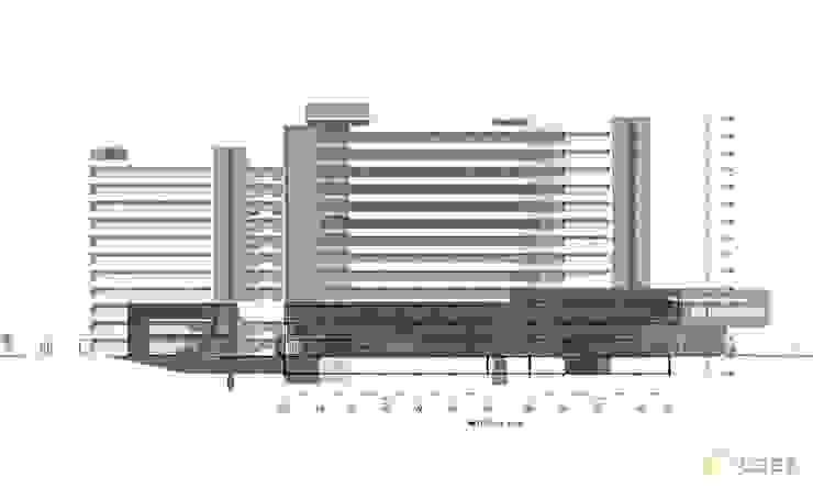 thiết kế bệnh viện nghỉ dưỡng & phục hồi chức năng Đồng Hới bởi thiết kế khách sạn hiện đại CEEB