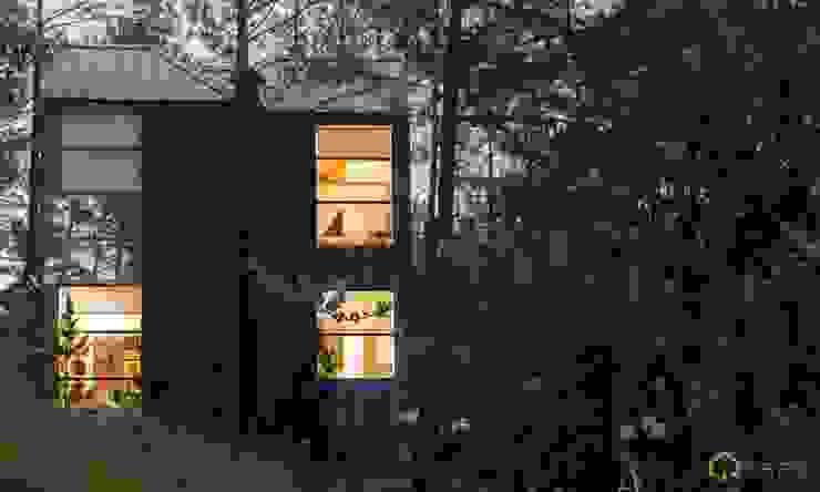 thiết kế biệt thự nghỉ dưỡng dalat: hiện đại  by thiết kế khách sạn hiện đại CEEB, Hiện đại