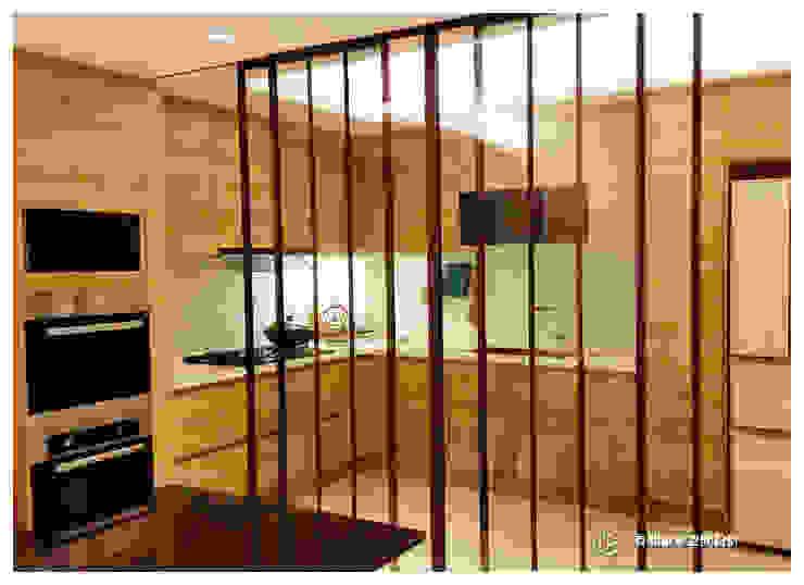 老屋翻新-住宅空間。台北【木柵-C宅】 現代廚房設計點子、靈感&圖片 根據 有關創意室內設計 現代風
