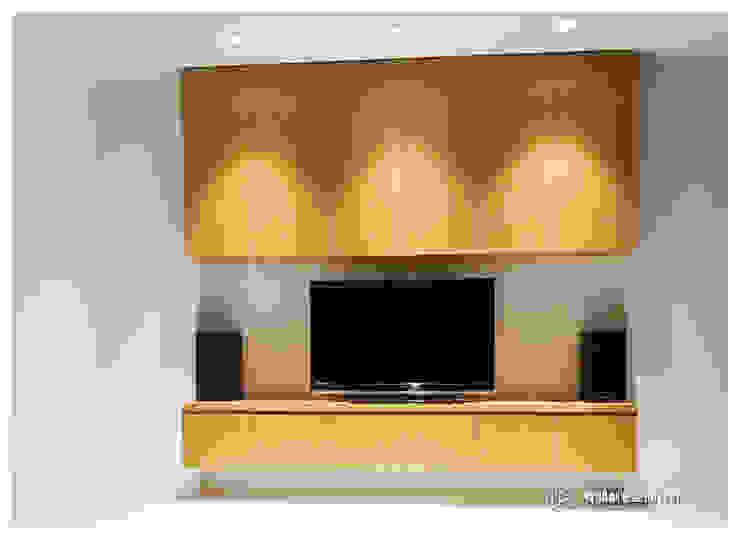 老屋翻新-住宅空間。台北【木柵-C宅】 根據 有關創意室內設計 現代風