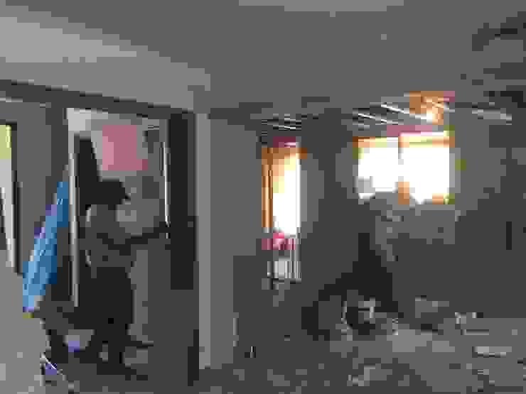 Apertura de muros y terminación vanos, empaste de MMAD studio - arquitectura interiorismo & mobiliario - Moderno