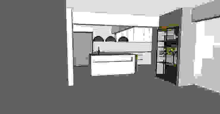 Remodelación Casa J&M de MMAD studio - arquitectura interiorismo & mobiliario - Moderno