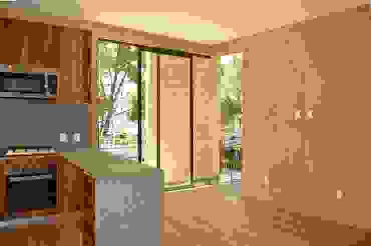 Cocina de MOKALI Carpintería Residencial Moderno Concreto reforzado