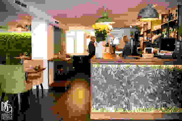 Después : vista desde la entrada del restaurante de NSG interior Design & Projects, reformas y decoración en Mallorca
