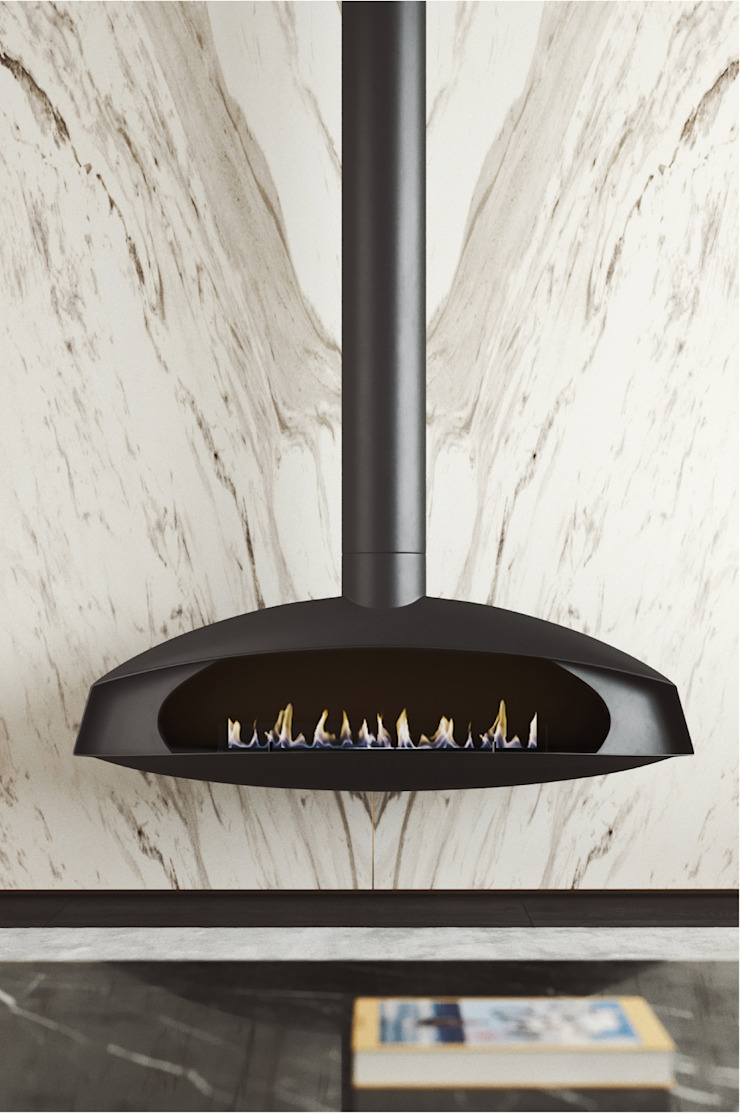 مدرن  توسطShelter ® Fireplace Design , مدرن