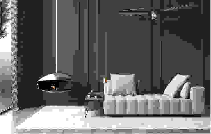 Major Tom — Flow Collection por Shelter ® Fireplace Design Moderno