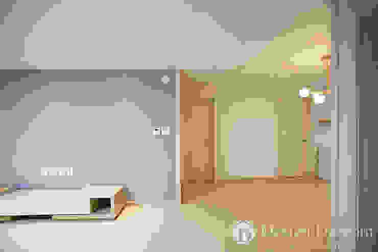 인창동 래미안 33py 거실 모던스타일 거실 by Design Daroom 디자인다룸 모던