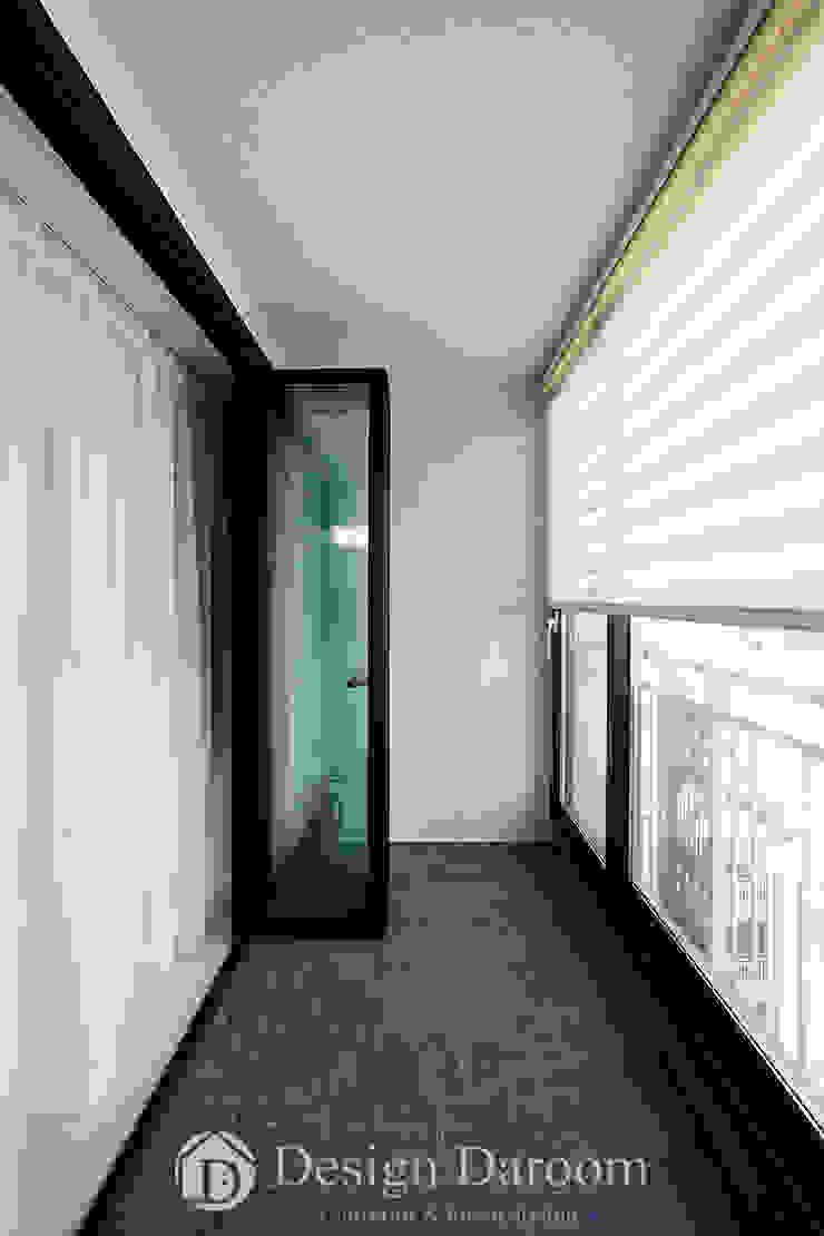 인창동 래미안 33py 발코니 by Design Daroom 디자인다룸 모던