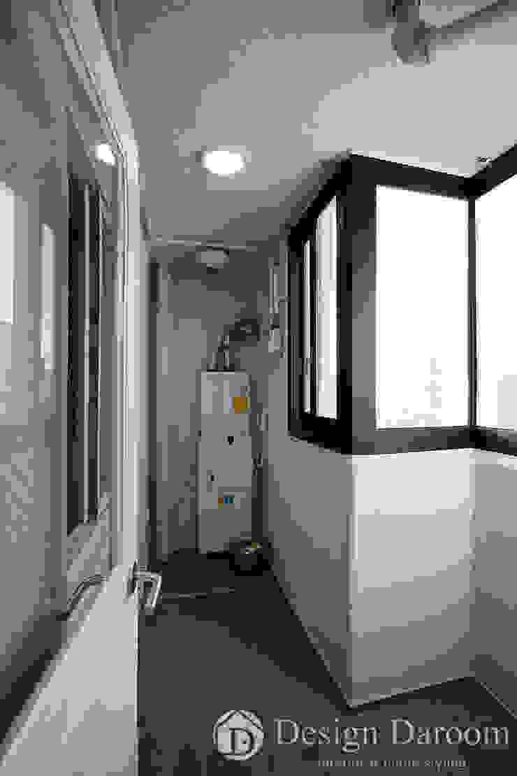 인창동 래미안 33py 다용도실 by Design Daroom 디자인다룸 모던