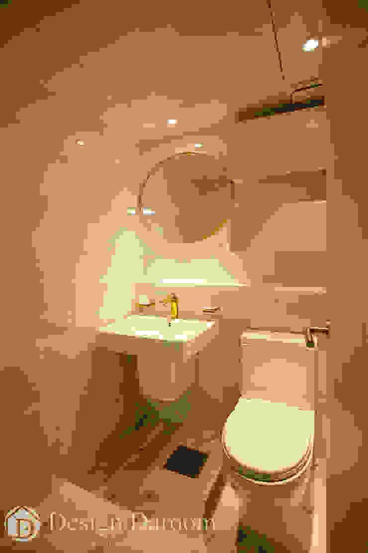인창동 래미안 33py 안방 욕실 모던스타일 욕실 by Design Daroom 디자인다룸 모던
