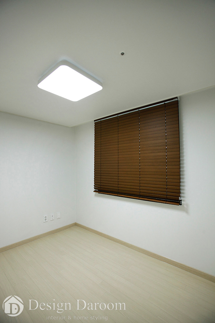 인창동 래미안 33py 서재 모던스타일 침실 by Design Daroom 디자인다룸 모던