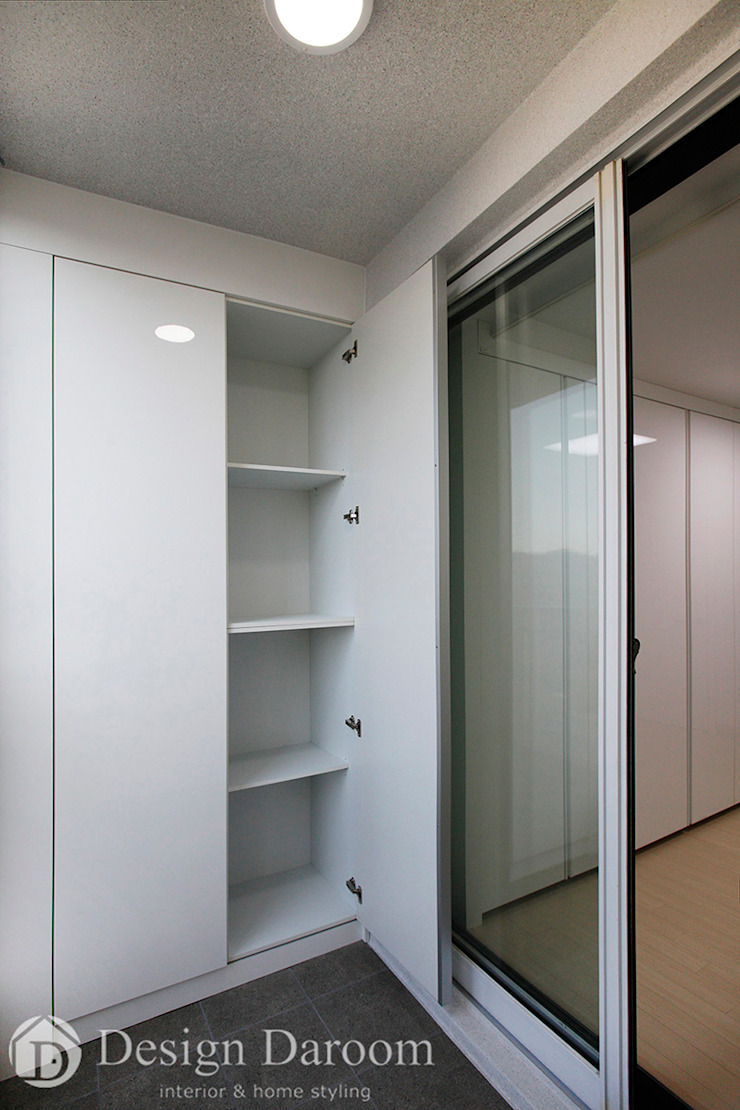 인창동 래미안 33py 침실 발코니 by Design Daroom 디자인다룸 모던