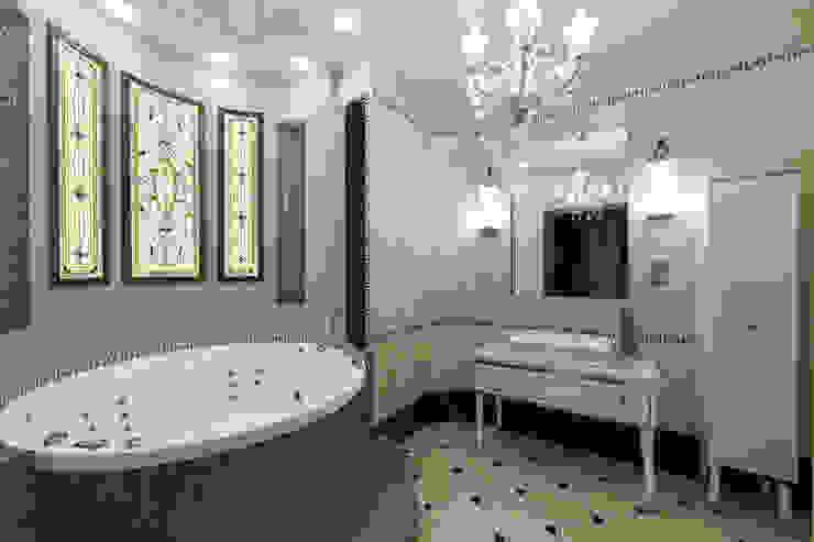 Квартира 129 кв м. в Москве. Дизайнеры Андрей и Екатерина Андреевы. от Андреевы.РФ