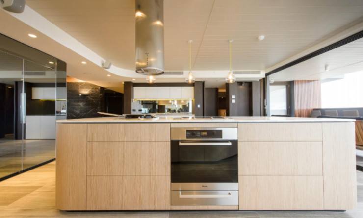 Apartment.Melbourne:  Kitchen by Ground 11 Architects,