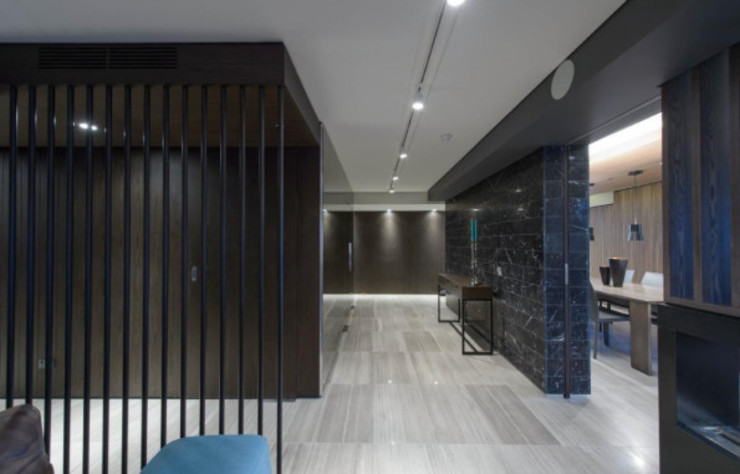 Apartment.Melbourne:  Corridor & hallway by Ground 11 Architects,