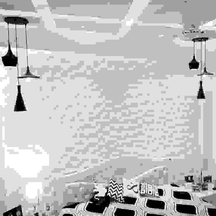 Maayish Architects BedroomLighting White