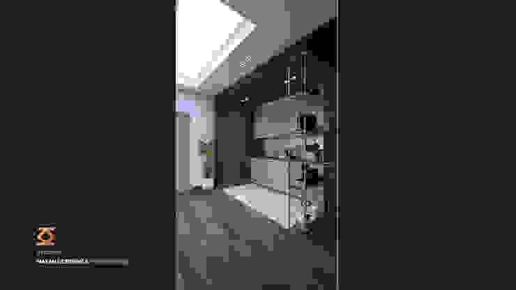 Kitchen l Living Room توسط ICONIC DESIGN STUDIO مدرن