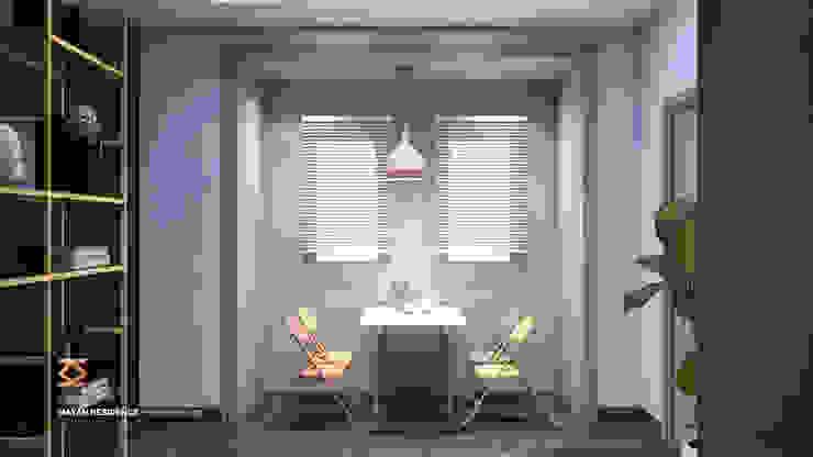 Dining Room l Living Room توسط ICONIC DESIGN STUDIO مدرن