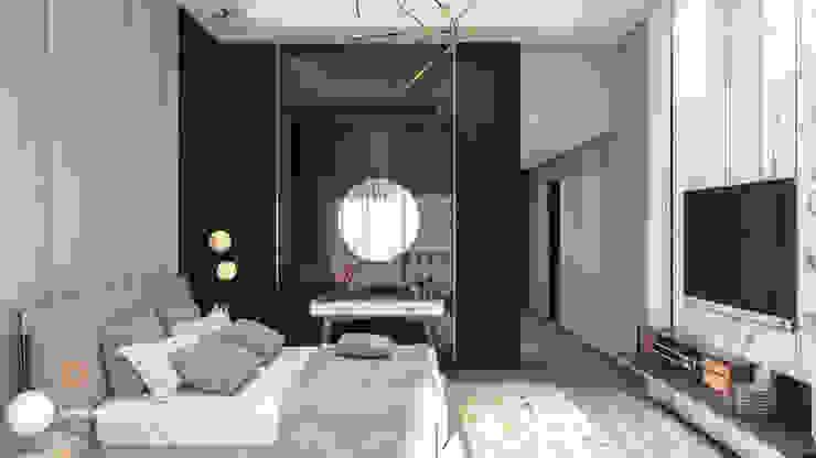 Bed Room توسط ICONIC DESIGN STUDIO مدرن