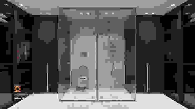 Bath Room l Bed Room توسط ICONIC DESIGN STUDIO مدرن